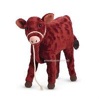 American Girl Caroline Calf Garnet For 18 Dolls Pet Animal Farm In Box