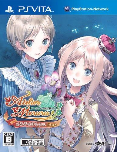 New PS Vita Meruru no Atelier Plus Arland no Renkinjutsushi 3 Japan import