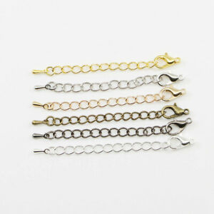 20pcs-Extension-Tail-Chain-Lobster-Clasps-Connector-For-DIY-Jewelry-Making-5-7cm