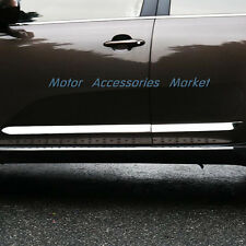 New Chrome Body Molding Door Trim For KIA Sportage 2011 2012 2013 2014 2015