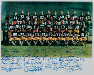 1967-Packers-Super-Bowl-II-team-signed-photo-23-AUTOS-Willie-Davis-Fuzzy-Kramer