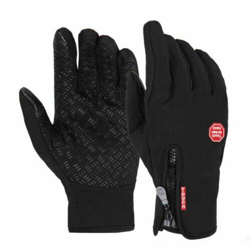 Neu Wasserdicht Thermo Winter Handschuhe Finger Touch klappbar Sport Warm Gloves