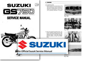 suzuki gs750 gs750e workshop service manual 750 gs shop factory ebay rh ebay ie suzuki gs 750 owners manual suzuki gs 750 repair manual