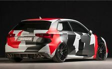 Rieger Heckeinsatz Carbon-Look Doppelendrohr links/rechts Audi A3 8V ohne S-Line