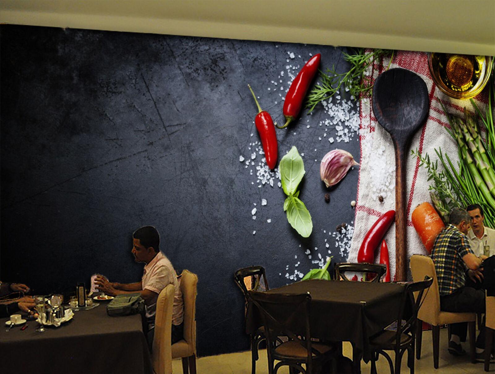 3D Fresh Vegetables 025 WallPaper Murals Wall Print Decal Wall Deco AJ WALLPAPER