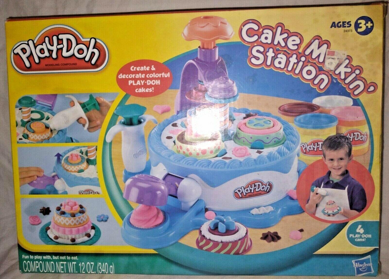 2020 New purchase Play-doh Hasbro Cake Makin Station Set