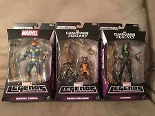 Marvel Legends Infinite Guardians of the Galaxy Rocket Raccoon, Nova & Gamora