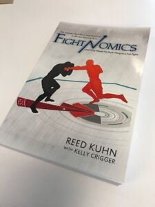 Fightnomics-book-brand-new-copy-Signed-by-Author-A-perfect-gift-for-UFC-fans