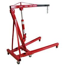 2 Ton Shop Crane Foldable Engine Motor Cherry Picker Hoist Lift