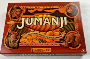 Jumanji-Action-Board-Game-2017-Cardinal-Edition-Complete-Excellent-Condition