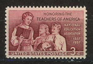 ESTADOS-UNIDOS-USA-1957-MNH-SC-1093-School-Teachers