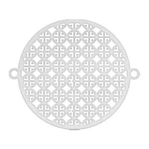 2 unidades Sadingo joyas los conectores entre trozo mandala Bohemian style 29x25 mm
