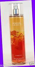 NEW! 1 Bath & Body Works SENSUAL AMBER Fine Fragrance Mist Body Spray