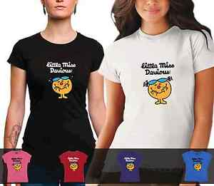 LADIES-Little-Miss-Devious-Tshirt-cotton