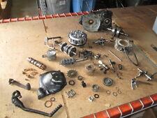Yamaha AT1 Flywheel Oil Pump Cover Shifter & Kick Pedal Stator Cover Parts Lot