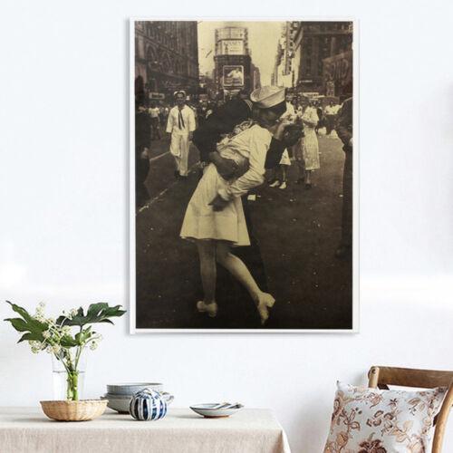 1pcs Retro Poster Kraft Paper Antique Bar Room Wall Decor Nostalgic Playbill