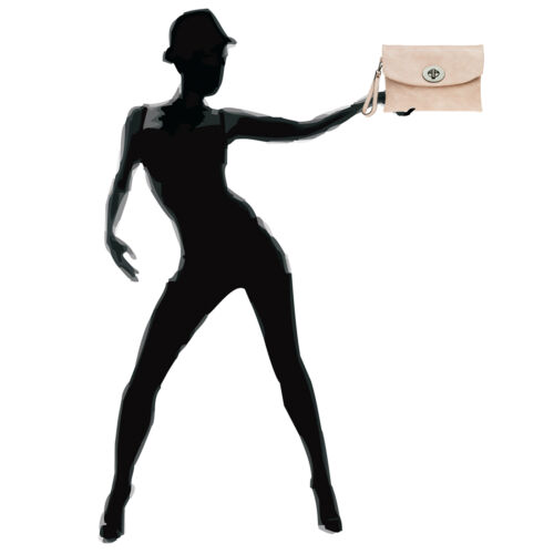 CASPAR TA339 Damen Envelope Clutch Abendtasche Handtasche Umhängetasche NEU
