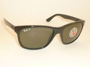 4c3d43ead0 New RAY BAN Sunglasses Black Frame RB 4181 601 9A Polarized ...