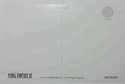 Final Fantasy 15 XV Postcard Ignis Scientia Animate Square Enix Game F//S