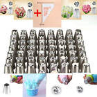 Lots Russian Pastry Flower Icing Piping Nozzles Cake Decoration Tips Baking Tool
