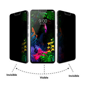 Privacy Tempered Glass Screen Protector Film For LG G8 G7 ThinQ K40 Q60 W30 Pro