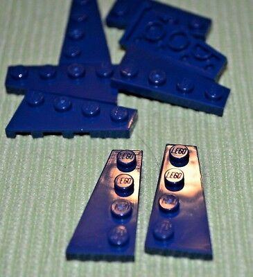 4613335 4251895 Brick 51739 LEGO NEW 2x4 Dark Blue Wing 10x