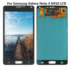For-Samsung-Galaxy-Note-4-N910-Assembly-LCD-Touch-Screen-Digitizer-Display-Black