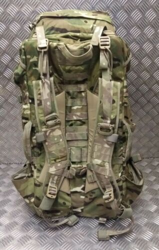 Genuine British Military Issue MTP Virtus 90 LT GU Bergen Rucksack Current Issue