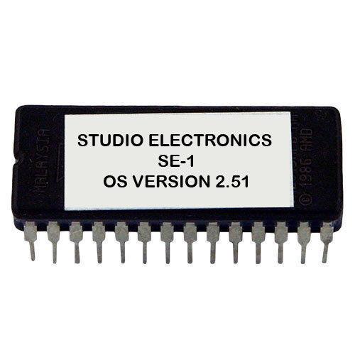 STUDIO ELECTRONICS SE-1 Firmware Version 2.51 Latest OS SE1 Eprom