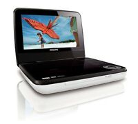 "PHILIPS PD7030/12 7"" RECHARGEABLE PORTABLE DVD PLAYER DivX USB PLAYBACK BARGAIN"