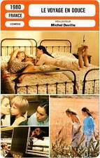 FICHE CINEMA : VOYAGE EN DOUCE - Sanda,Chaplin,Zabor,Deville 1980