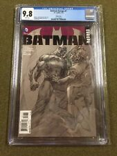 Batman Europa #1 1st Print Jim Lee 1:100 Sketch variant CGC 9.8 NM+/M