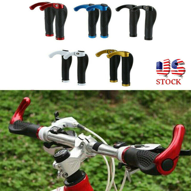 Cycling MTB Road Bike Bicycle Handle Handlebar Soft Rubber Bar End Grips1 Pair
