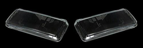 For Volkswagen Passat B4 Headlight Glass Lens PAIR L+R