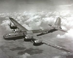 WWII-B-29-Super-Fortress-Airplane-Aviation-Art-Print-Poster-16x20