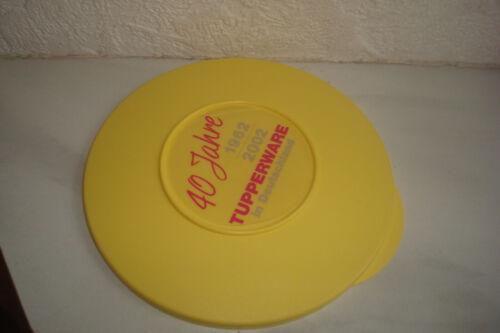 Tupper Tupperware  Ersatzdeckel Junge Welle gelb 18 cm Jungew neu Deckel Ersatz