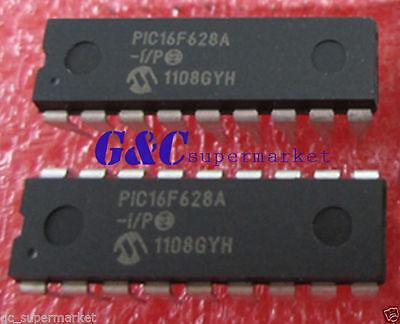 5PCS IC PIC16F628A-I/P  DIP-18 Microchip NEW GOOD QUALITY