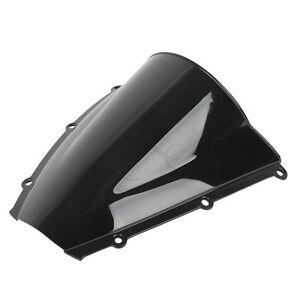 Motor Double Bubble Black Windshield Windscreen For 2003-2004 Honda CBR 600RR F5