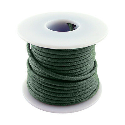 Green 20 Gauge Stranded Cloth Wire 50 Feet