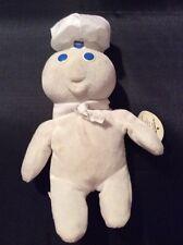 Pillsbury Doughboy Laughing Beanie Stuffed Animal Toy Giggles Cute Promo Item