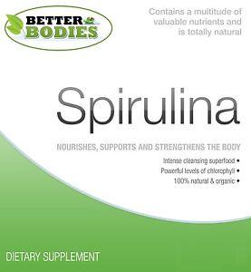 Biologico-Spirulina-compresse-Certified-UK-VERDE-500-mg-120-240-360-compresse