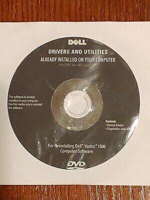 Drivers Recovery Restore Dell Vostro 1400 1440 1450 1500 1510 1520 1540 1550