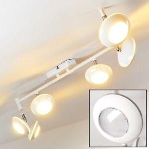design deckenlampe led wohn zimmer leuchten k chen decken flur strahler weiss ebay. Black Bedroom Furniture Sets. Home Design Ideas