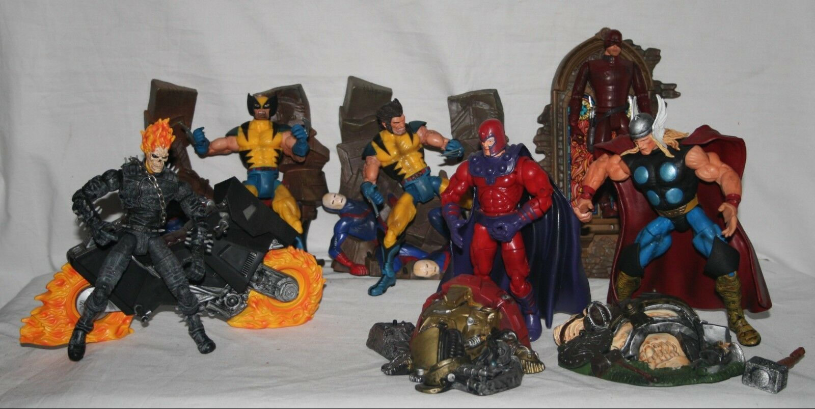 Marvel legends series 3 2002 complete set regular and variants