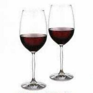 WATERFORD MARQUIS DEEP RED WINE DUO NEW -2 SYRAH -BORDEAUX (s)