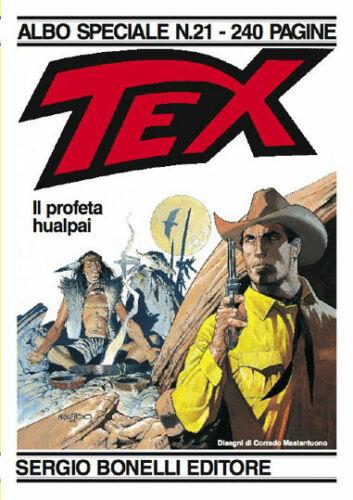 fumetto ALBO GIGANTE TEX SPECIALE numero 21 IL PROFETA HUALPAI
