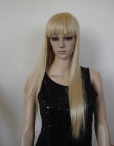 Peruecken-Haarteil-Haarzopf-70cm-Lang-Hochwertiger-Hitzfaser-Neu-L053