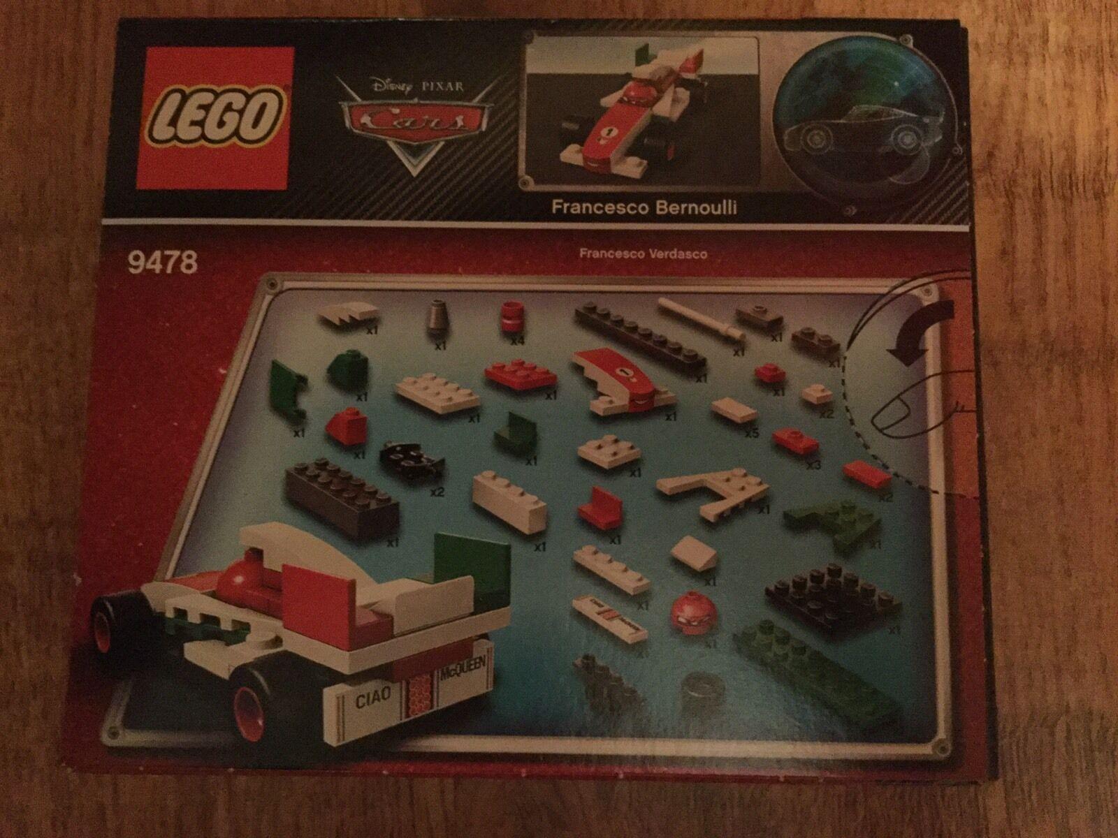 Lego 9478 neu, Cars Francesco Bernoulli neu, 9478 MISB 62c7b4
