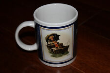 The Saturday Evening Post Norman Rockwell Collection Gone Fishing Mug 1930