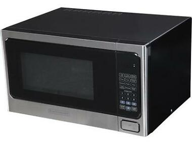 Black & Decker 1.1 cu. ft. 1000W Microwave Oven